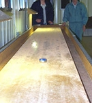 Indoor shuffleboard